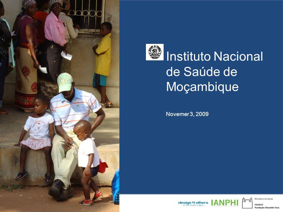 Instituto Nacional de Saúde de Moçambique Design Review – 22 September 2009 An HDR CUH2A Initiative Introduction