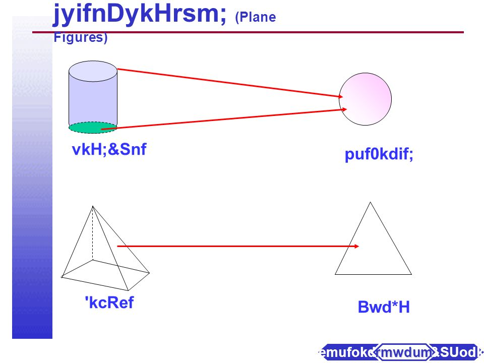 jyifnDykHrsm; (Plane Figures) axmifhrSefpwk*H pwk&ef; puf0dkif; axmifhrSefpwk*HwkH; ukAwkH; pufvkH; a&SUodkYaemufokdY rmwdum