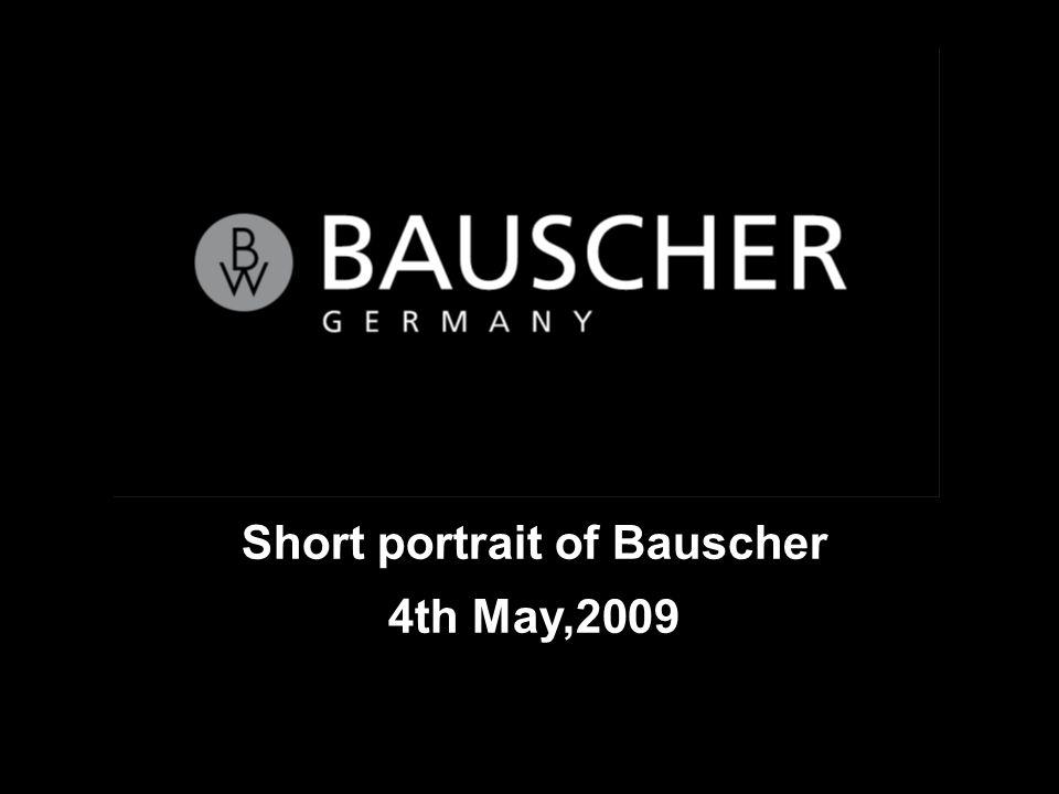 Short portrait of Bauscher 4th May,2009