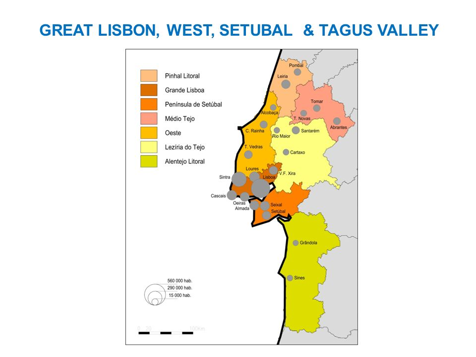 GREAT LISBON, WEST, SETUBAL & TAGUS VALLEY