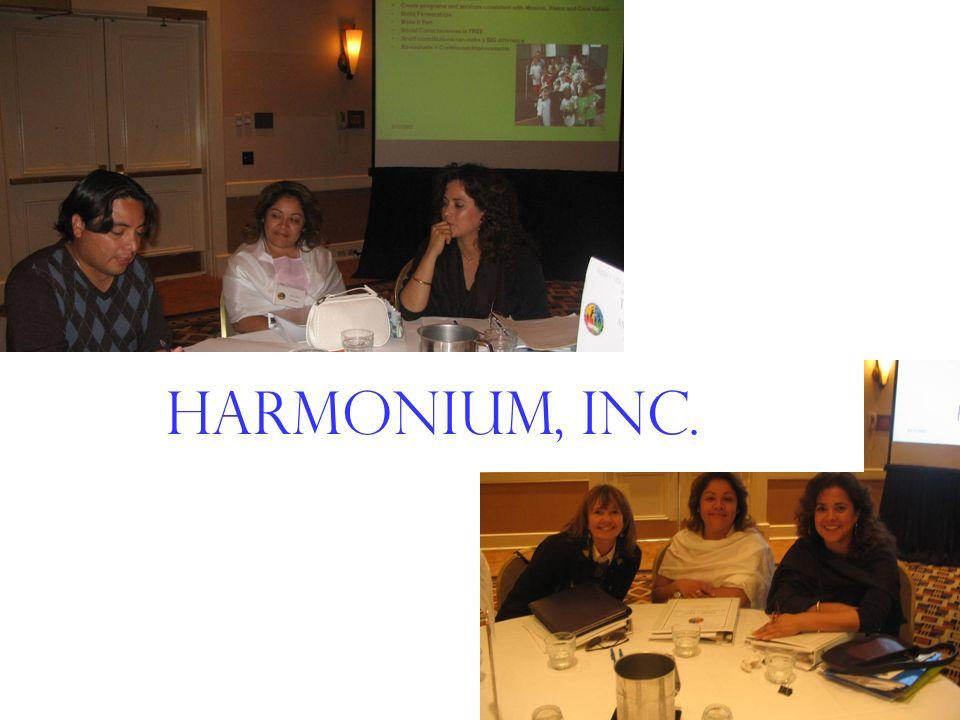 Harmonium, inc. Harmonium, Inc.