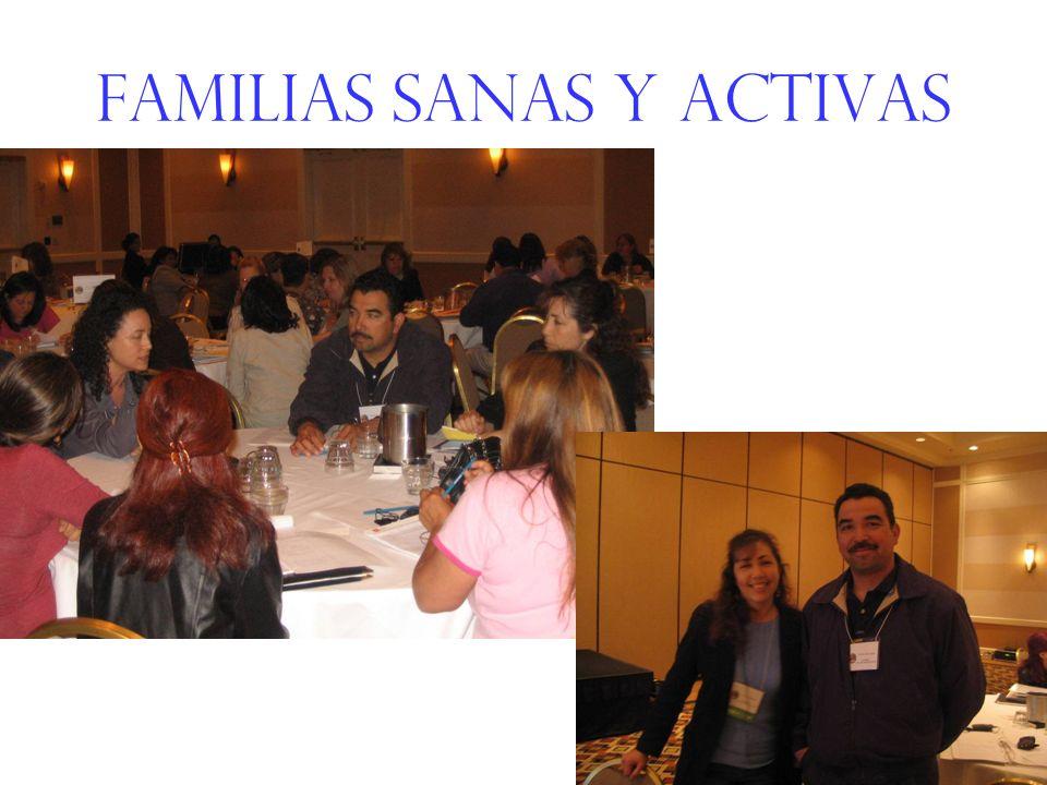 Familias sanas y activas