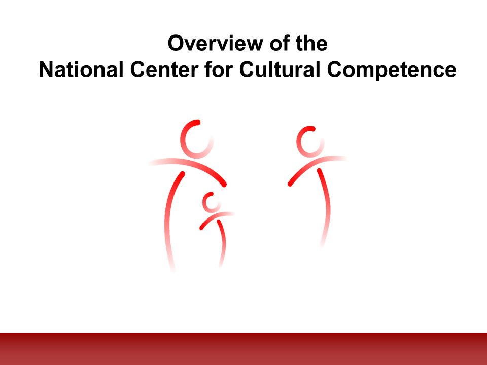 The mission of the National Center for Cultural competence is to increase the capacity for health and mental health care programs to design, implement, and evaluate culturally and linguistically competent service delivery systems.