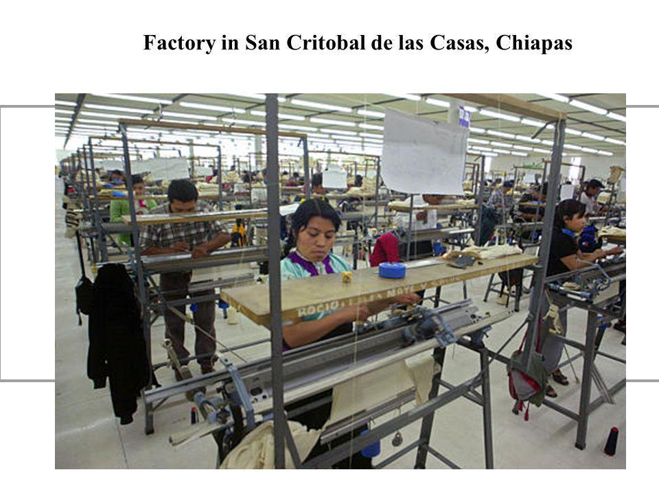 Factory in San Critobal de las Casas, Chiapas