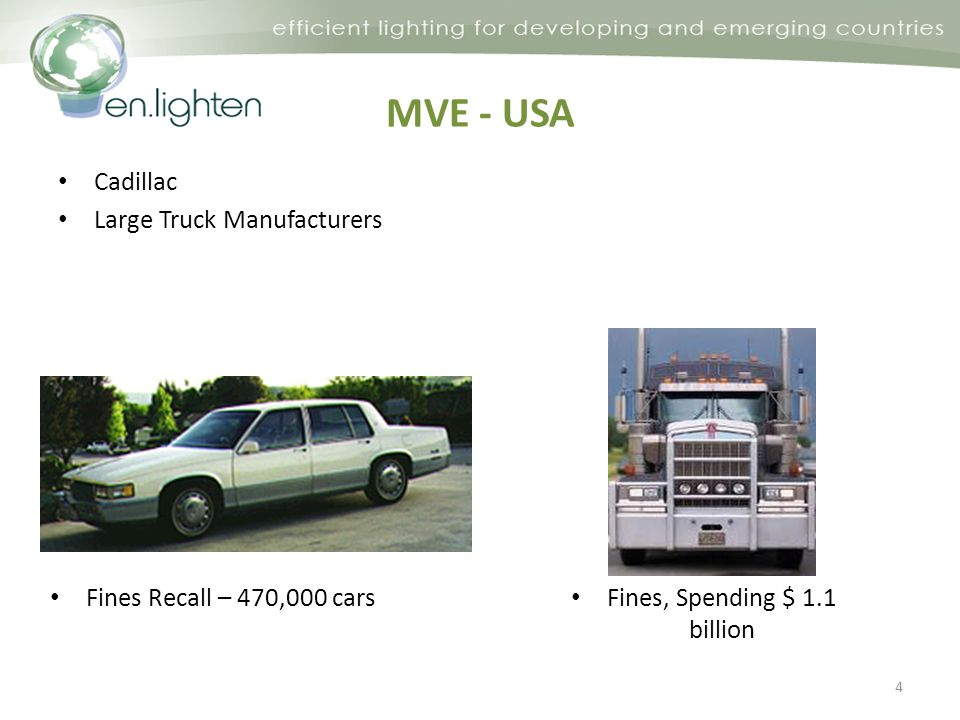 MVE - USA Cadillac Large Truck Manufacturers 4 Fines Recall – 470,000 cars Fines, Spending $ 1.1 billion