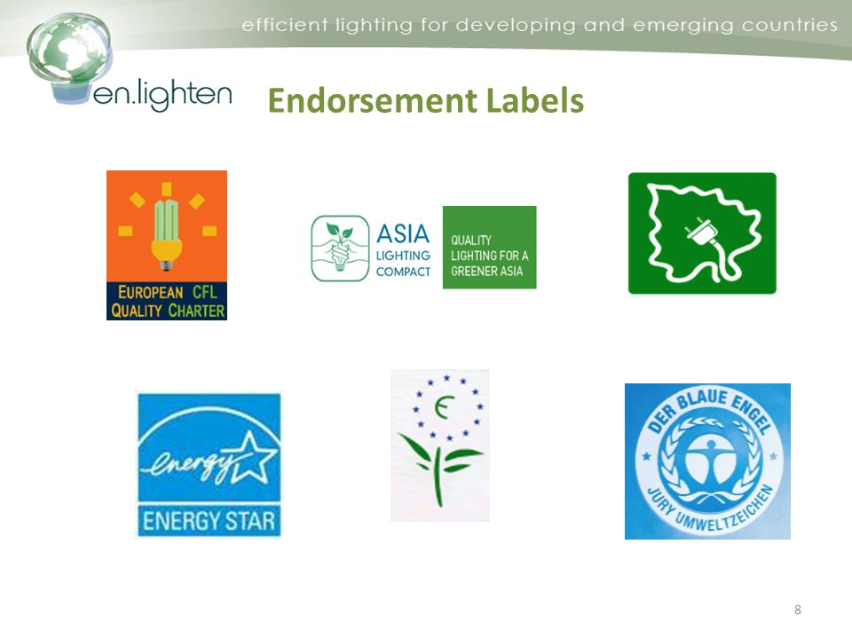 Endorsement Labels 8