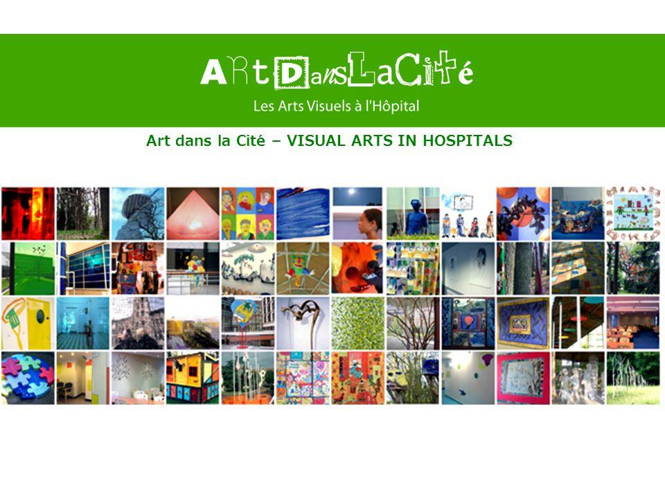 Art dans la Cité – VISUAL ARTS IN HOSPITALS