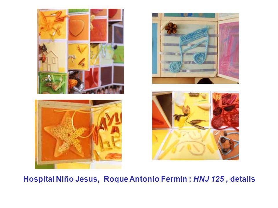 Hospital Niño Jesus, Roque Antonio Fermin : HNJ 125, details