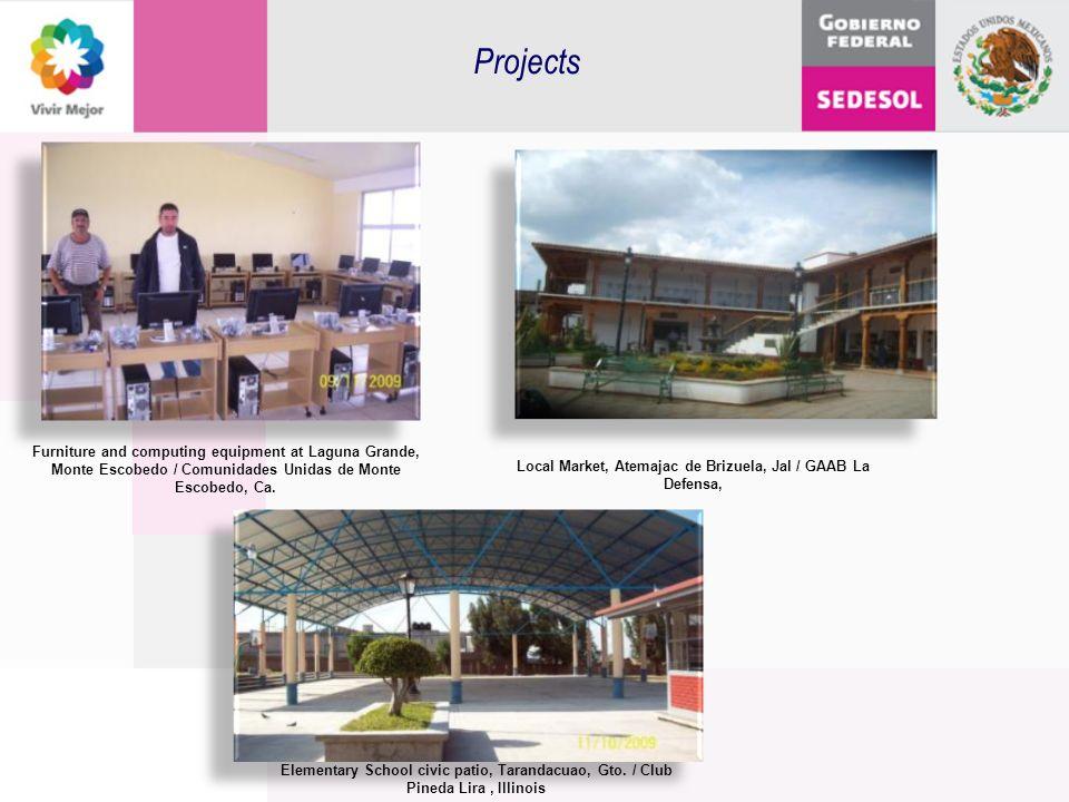 Furniture and computing equipment at Laguna Grande, Monte Escobedo / Comunidades Unidas de Monte Escobedo, Ca. Local Market, Atemajac de Brizuela, Jal
