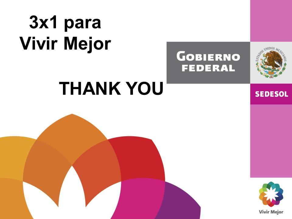 3x1 para Vivir Mejor THANK YOU
