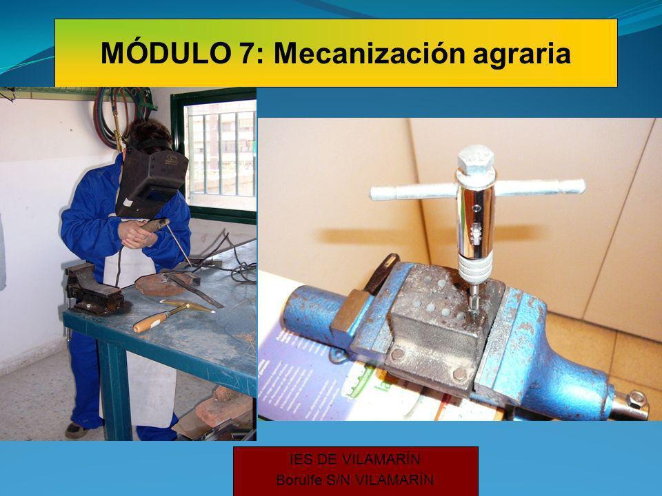 IES DE VILAMARÍN Borulfe S/N VILAMARÍN MÓDULO 7: Mecanización agraria