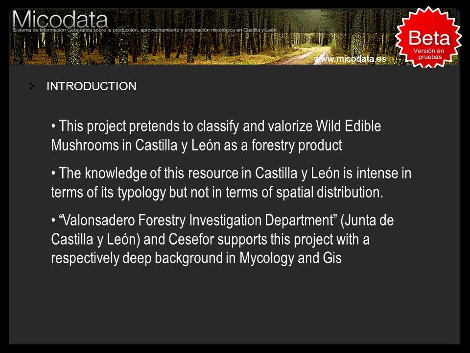 INTRODUCTION (II) www.micodata.es About 94.000 Km2