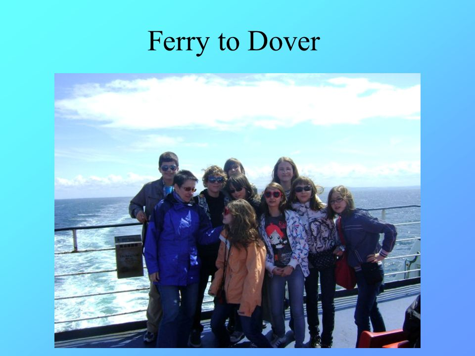 Ferry to Dover