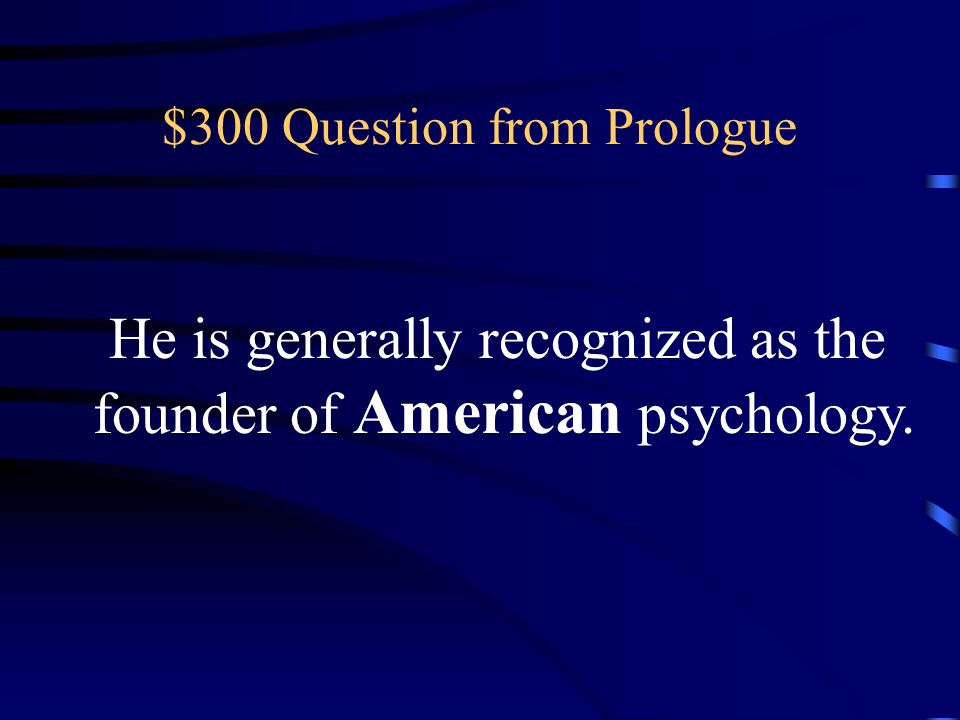 $200 Answer from Prologue What is Structualism?