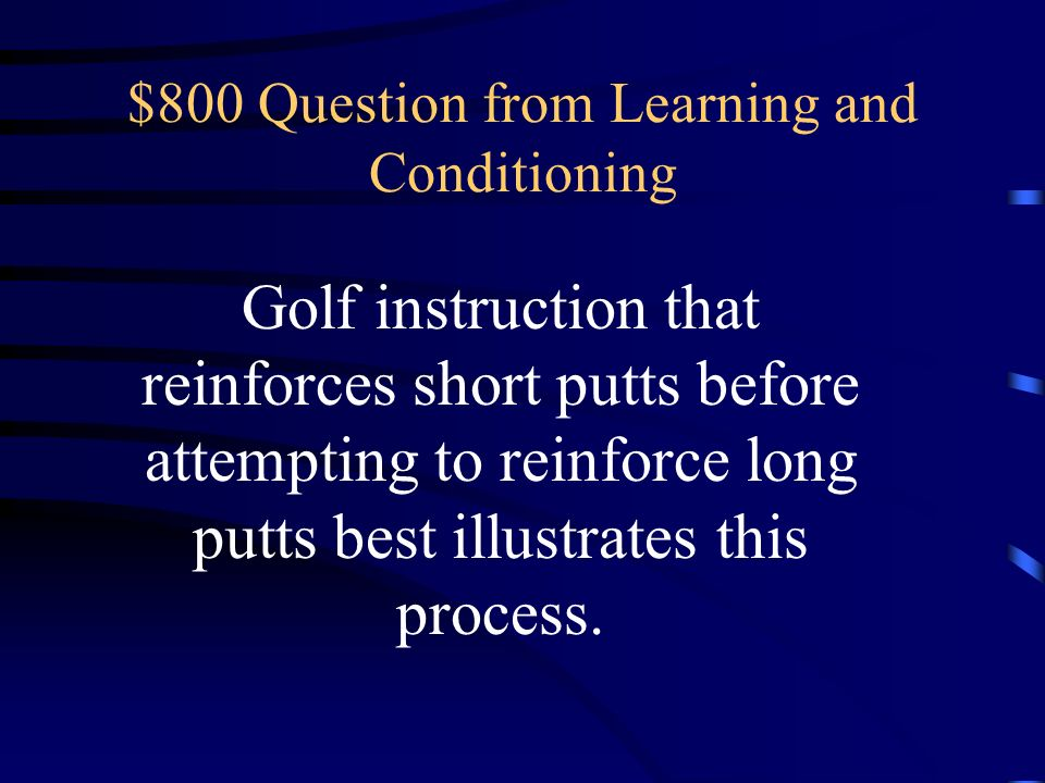$600 Answer from Learning and Conditioning What is higher-order/second order conditioning?