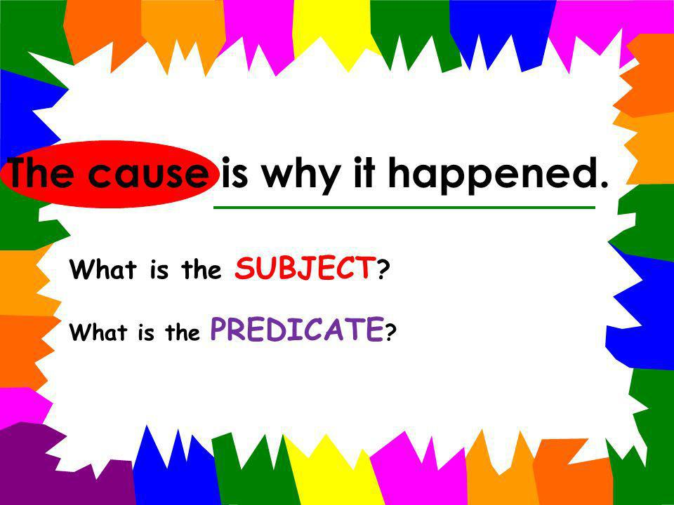 Mrs. Carter, Mrs. Turner, Mrs. Green, and Mrs. Mathis are the third grade teachers. What is the SUBJECT ? What is the PREDICATE ?