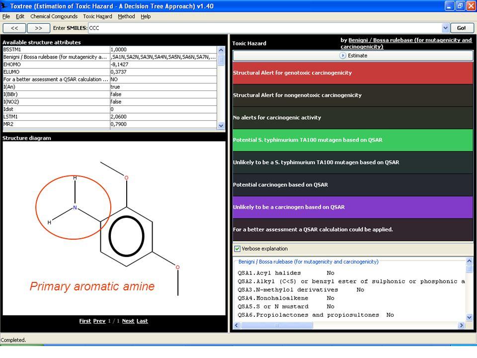 Primary aromatic amine