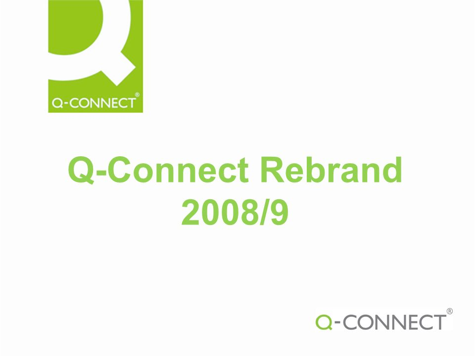 Q-Connect Rebrand 2008/9