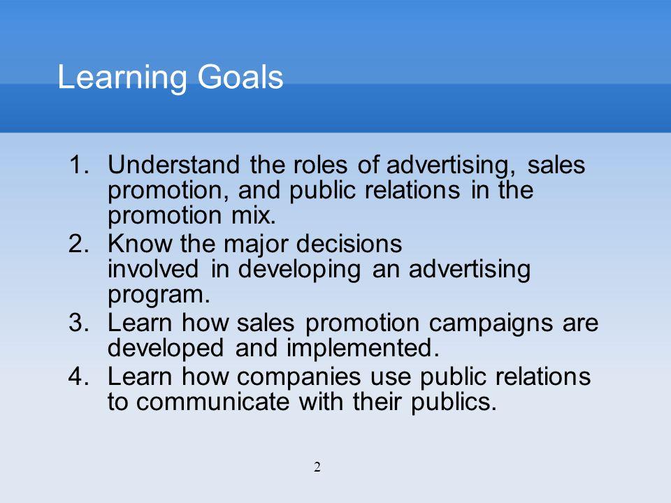 13 Advertising Organizing the Advertising Function Small vs.