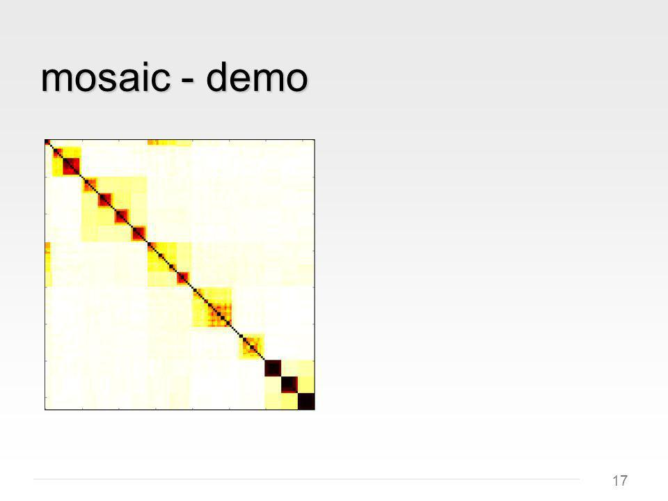17 mosaic - demo