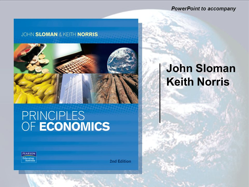 John Sloman Keith Norris PowerPoint to accompany
