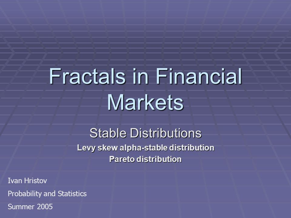 What is a Fractal.A fractal is a geometrical structure that is self-similar when scaled.