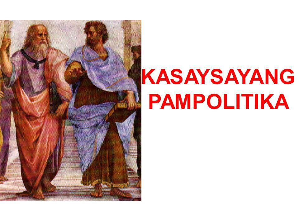 KASAYSAYANG PAMPOLITIKA