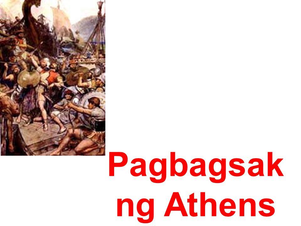 Pagbagsak ng Athens