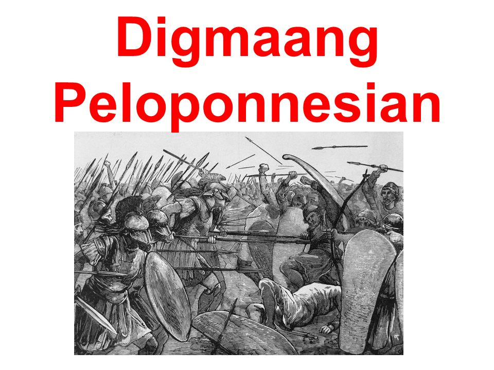 Digmaang Peloponnesian