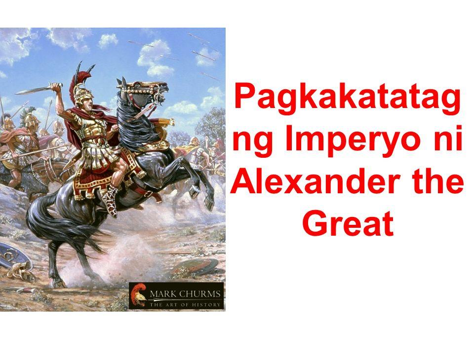Pagkakatatag ng Imperyo ni Alexander the Great