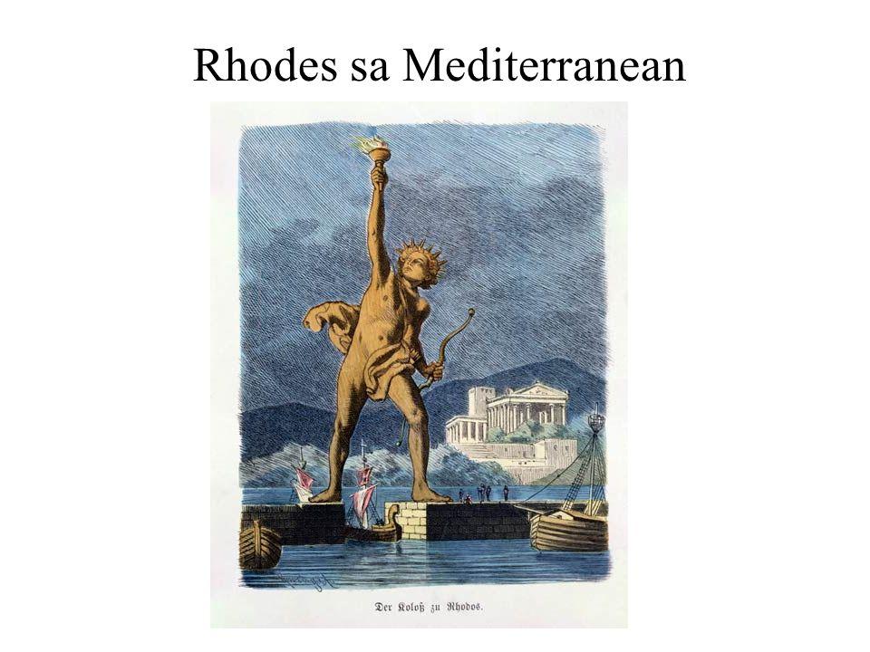Rhodes sa Mediterranean