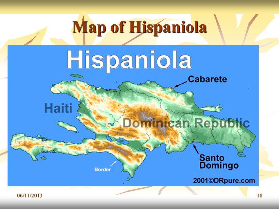 06/11/201318 Map of Hispaniola