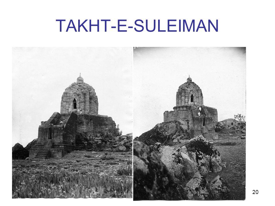 20 TAKHT-E-SULEIMAN