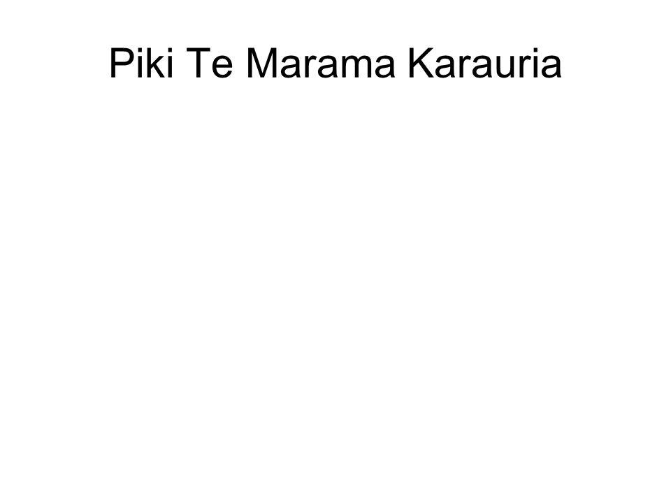 Piki Te Marama Karauria