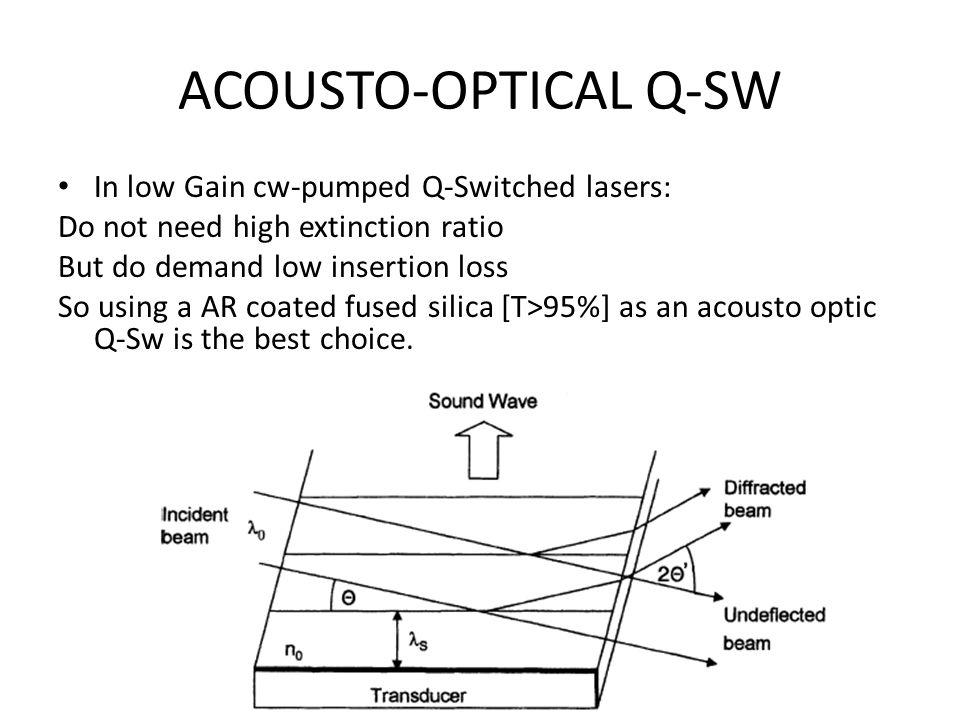 Prelasing & Postlasing Postlasing Results from Piezo-Optic Effects.[KD*P & LiNbO3]
