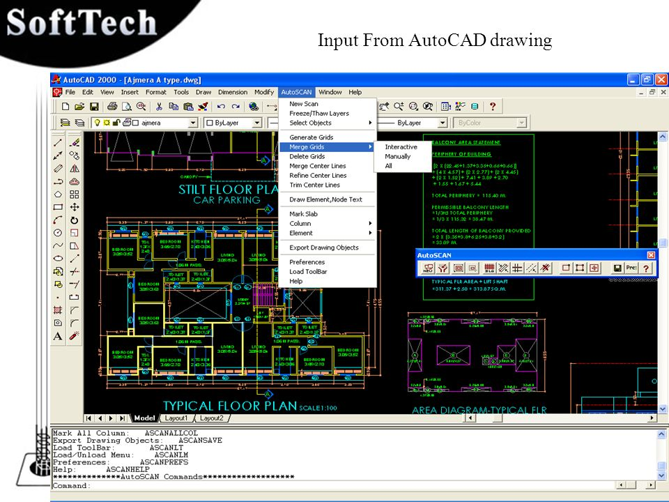 Input From AutoCAD drawing