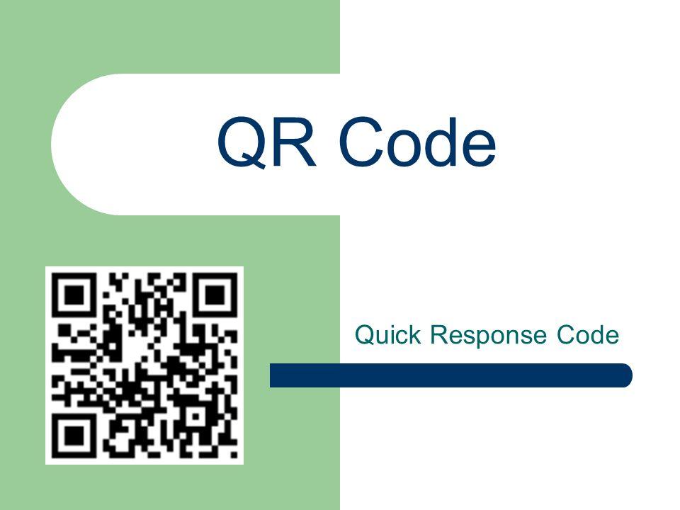 QR Code Quick Response Code