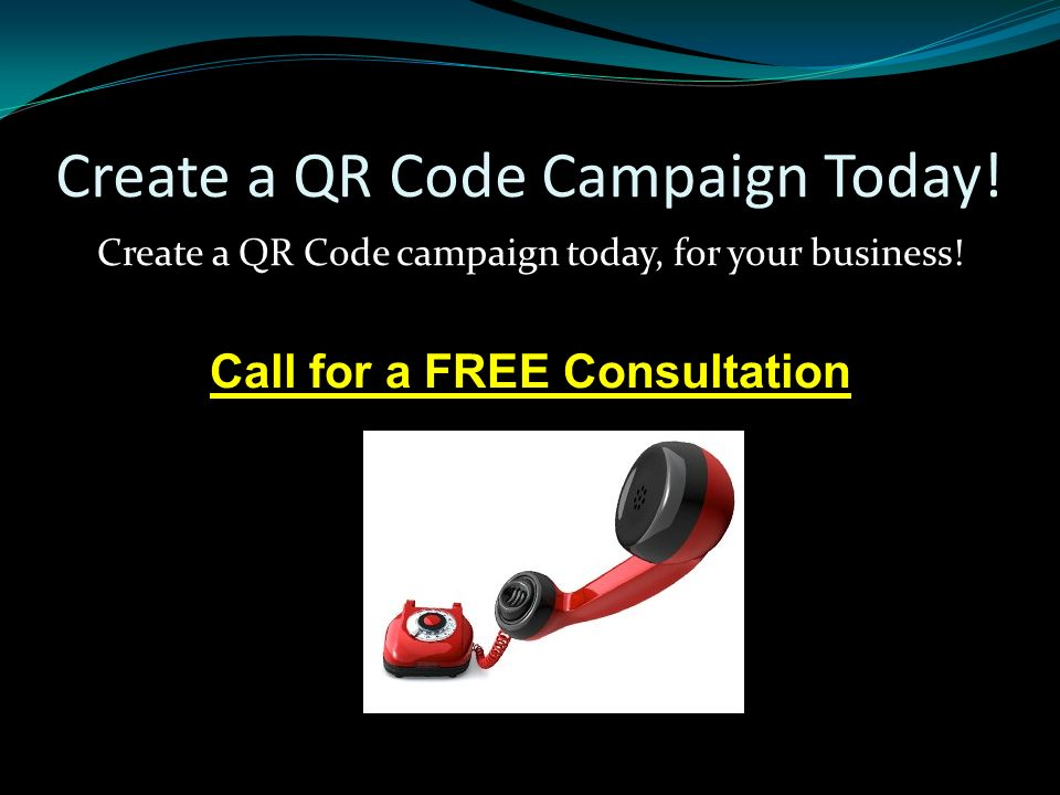 Create a QR Code Campaign Today. Create a QR Code campaign today, for your business.
