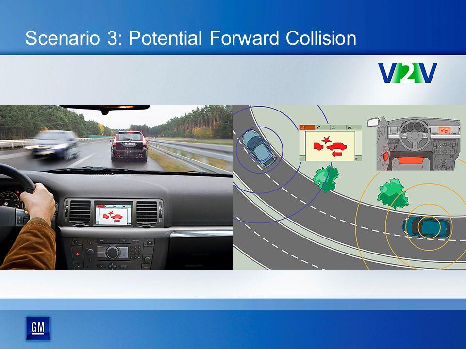 Scenario 3: Potential Forward Collision