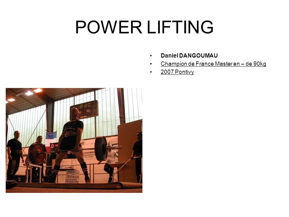 POWER LIFTING Elodie SAUBESTY Championne de France junior bench press 05/05/2005 Paimpol en – de 48kg