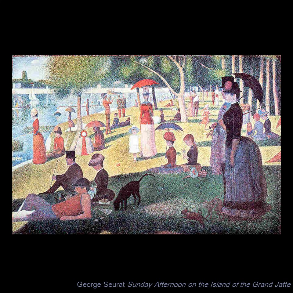 George Seurat Sunday Afternoon on the Island of the Grand Jatte