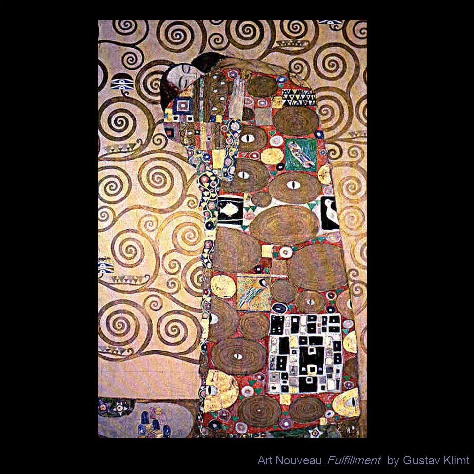 Art Nouveau Fulfillment by Gustav Klimt