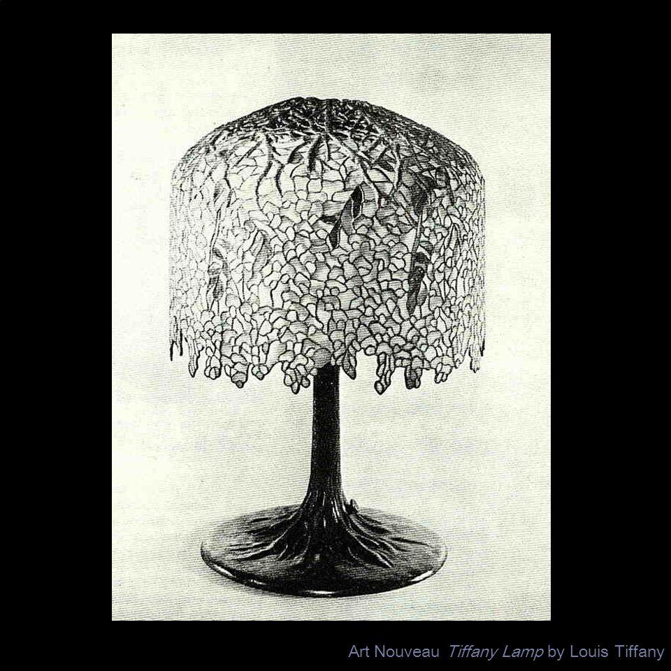 Art Nouveau Tiffany Lamp by Louis Tiffany