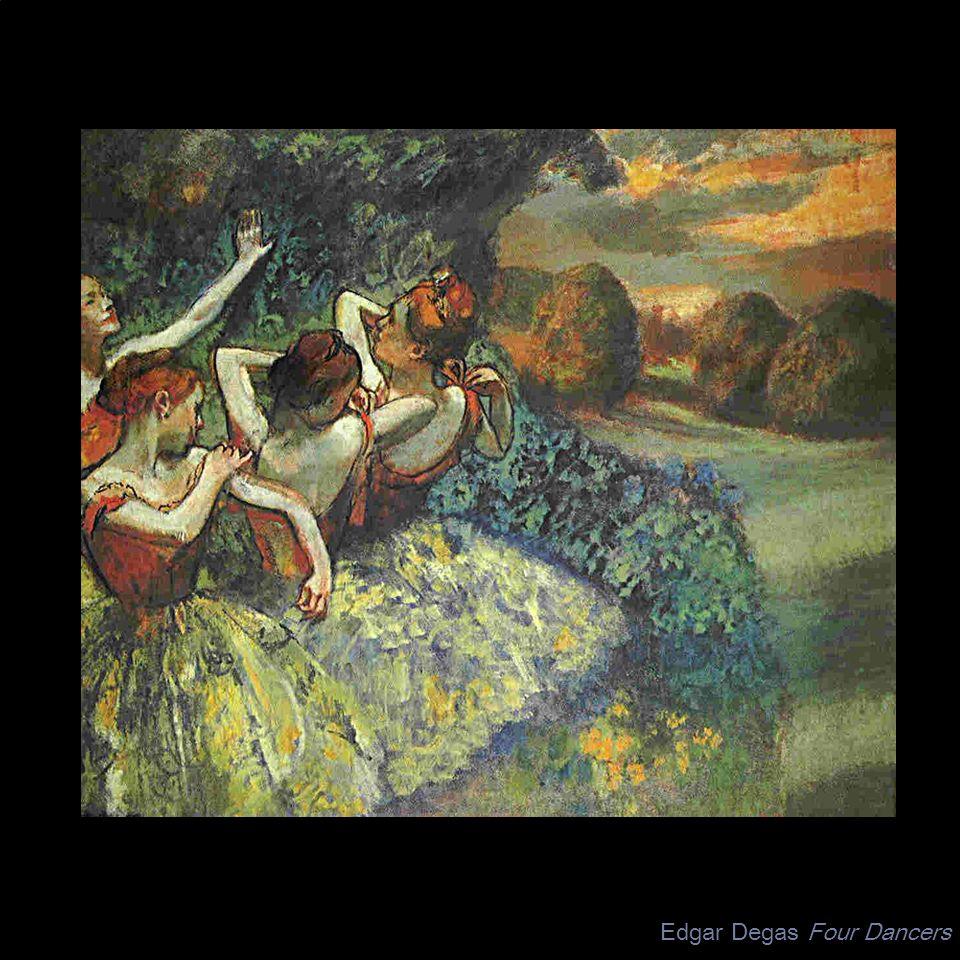Edgar Degas Four Dancers