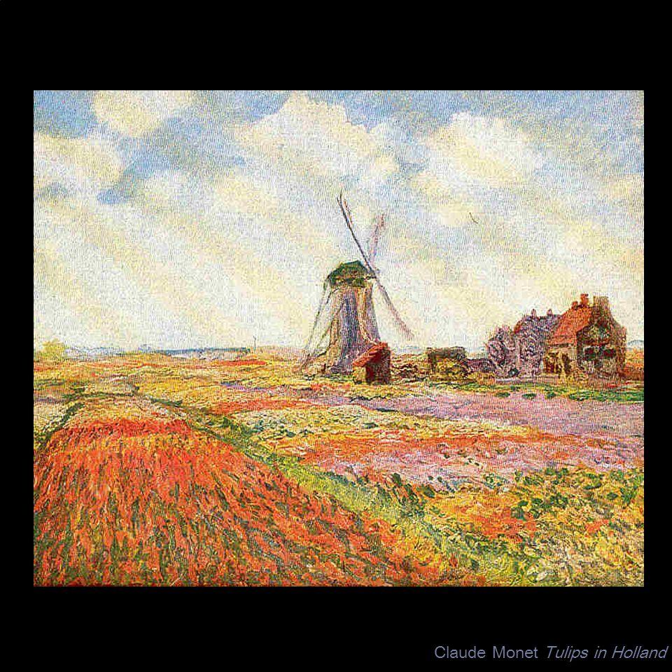 Claude Monet Tulips in Holland