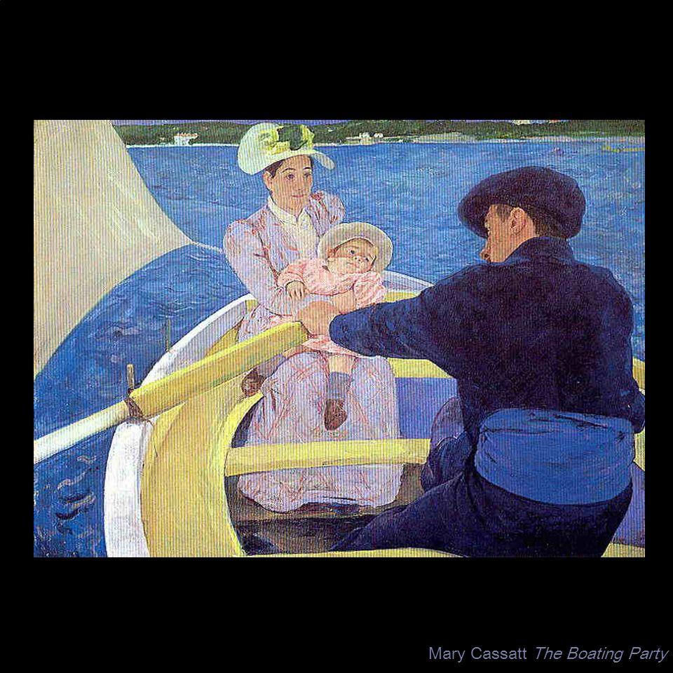 Mary Cassatt The Boating Party
