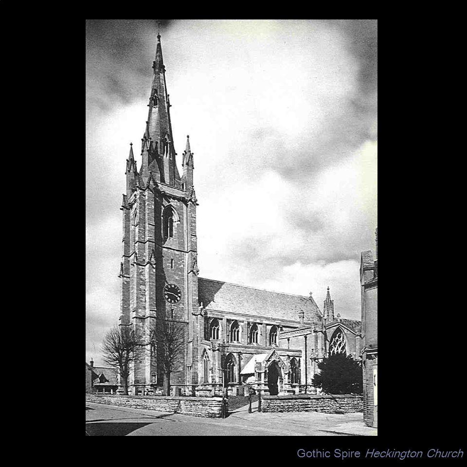 Gothic Spire Heckington Church