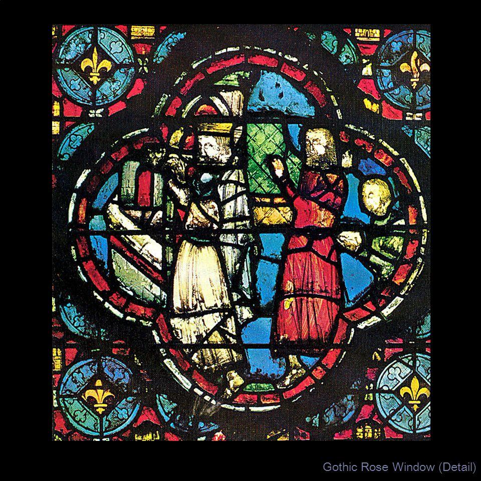 Gothic Rose Window (Detail)
