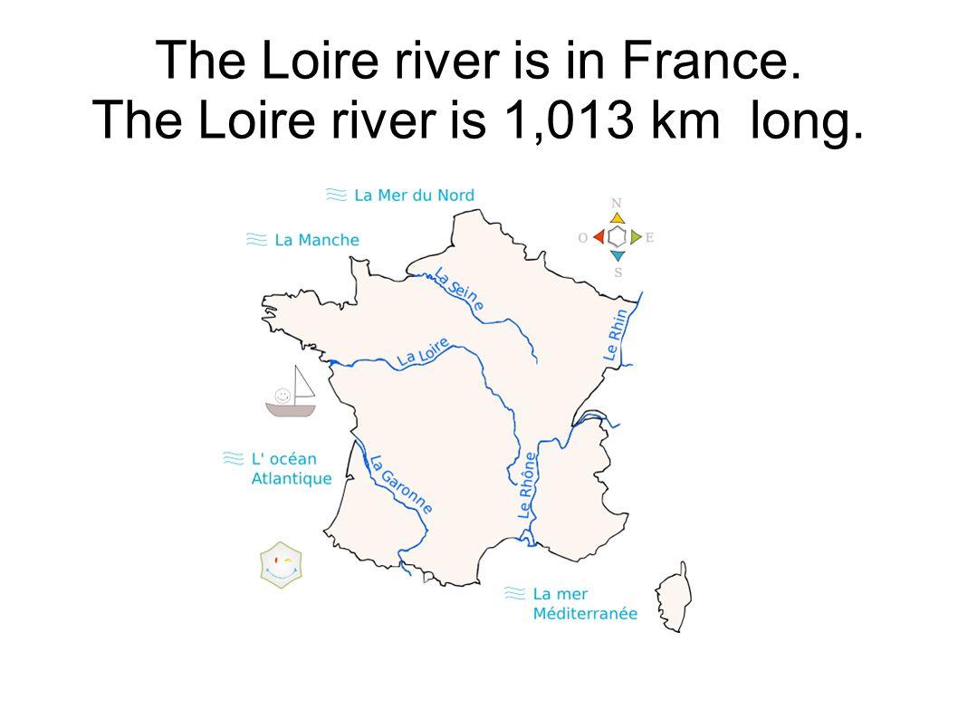 The Loire river has its source in the Mont Gerbier des Joncs (1,408 m).