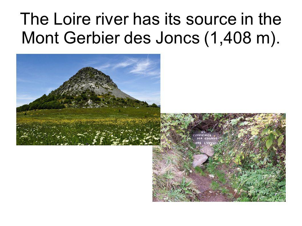 The Loire river flows through Le Puy en Velay, St Etienne, Nevers, Orleans...